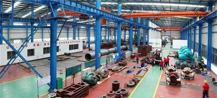 湖南潇湘制泵有限公司工厂生产车间实景